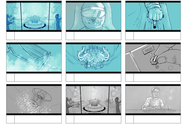 Cristiansanchez.art Cristian Sanchez illustrator Storyboard - Advertising