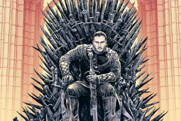 King Snow - Game of Thrones - Cristian Sánchez